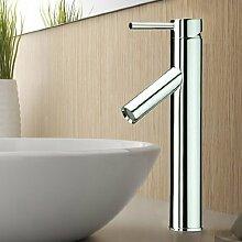 Lux-aqua Waschtisch-Armatur neben das Waschbecken mit (NEOPERL Perlator) FM16D73C für Aussatzwaschbecken