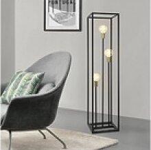 lux.pro Stehlampe, Groningen Stehleuchte Metall