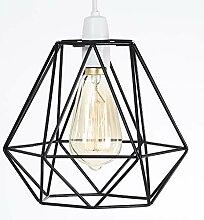 Luxa Lighting Drahtkorb aus Metall Käfig Stil