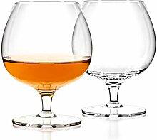 Luxbe – Cognac & Brandy Kristallgläser, klein,