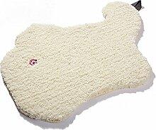 Luxbon Tier Motive Teppich Stopp Antirutschmatte Teppichunterlage Fußmatte Bettvorleger Spielteppich Kinderteppiche Beige Katze 50x70 cm