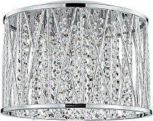 Luxera 46062 - Kristall-Deckenleuchte STIXX