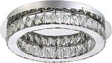 Luxera 62400 - LED Kristall-Deckenleuchte MOVIDA