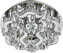 Luxera 62409 - LED Kristall-Deckenleuchte ARAMEA
