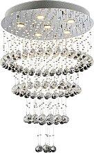 Luxera 62414 - Kristall-Deckenleuchte CHORUM