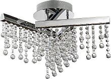 Luxera 62418 - LED Kristall-Deckenleuchte WELVET