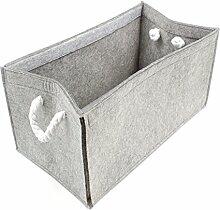 Luxflair Hochwertige Filz Aufbewahrungsbox