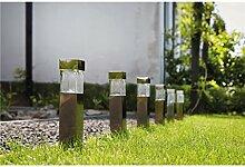 Luxform Beleuchtung Balos Solar Garten Spike Licht