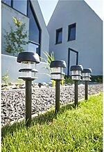 Luxform Beleuchtung Lagos Solar Garten Spike Licht