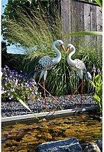 Luxform Solar-Tierleuchte Storch