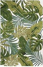 Luxor Living Design Teppich mit Blätter-Print |