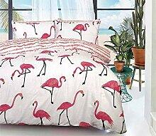 Luxuries Bettwäsche-Set Flamingo für