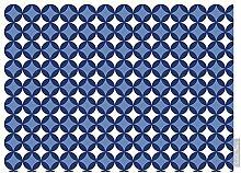 """Luxuriös Designer Marokkanische 100% Baumwolle Tischdecke - Bahia - """"Marrakesch"""" Sammlung - Entworfener Bedruckt & handgefertigt in Großbritannien (Wahl der Längen) - Blautöne"""