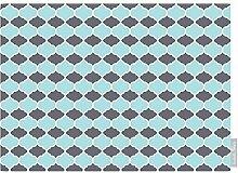 Luxuriös Designer Marokkanische 100% Baumwolle