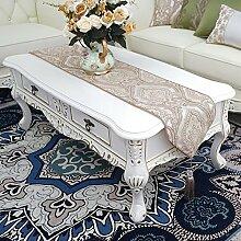 Luxuriöse,Dekoration,Slip Tischläufer-B 30x180cm(12x71inch)