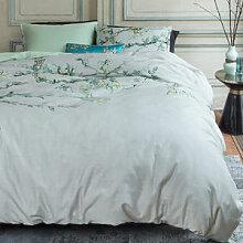 Luxuriöse Satin-Bettwäsche mit van Goghs