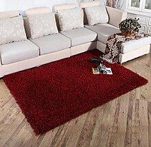 Luxuriöse Velvet Soft Teppich Bereich Teppich Rutschfeste Tür Bodenmatte für Schlafzimmer Wohnzimmer nicht verblassen nicht fallen Haar , 7 , 140x200cm