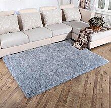 Luxuriöse Velvet Soft Teppich Bereich Teppich Rutschfeste Tür Bodenmatte für Schlafzimmer Wohnzimmer nicht verblassen nicht fallen Haar, 5, 160x230cm