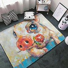 Luxuriöser superweicher Teppich für den