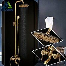 Luxurious shower Europäische Bad Unterputz