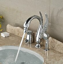 Luxurious shower High-end Messing Swan Badewanne