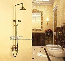 Luxurious shower Luxus Messing antik Wall Mount