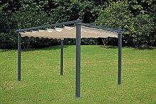 LuxurygardenPavillon, Pergola aus Aluminium mit