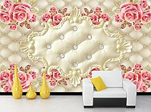 Luxus 3D Wallpaper Elegante Fototapete Rose Flower