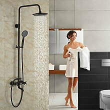 Luxus Badewanne Shwoer Set Öl eingerieben Bronze