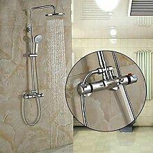 Luxus Chrom Badezimmer Thermostat Duschventil