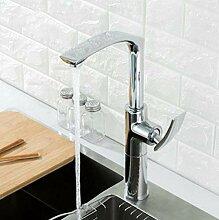 Luxus Chrom Küchenarmatur Einhand Deck Deck