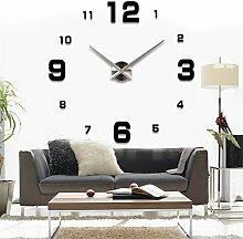 Luxus DIY 3D Wanduhr Home Decoration Mirrors Art Clock