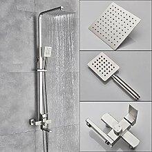 Luxus Duschmischer Wasserhahn Gebürstetes Nickel