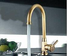 Luxus Elegante Antike Gold Bronze Wasserhahn