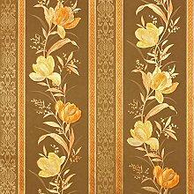 Luxus Floral gestreifte Tapete Luxury Home