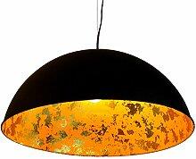 Luxus Hänge Leuchte Wohn Ess Zimmer Decken Pendel Lampe Blattgold Design Eco Light 9016 L go