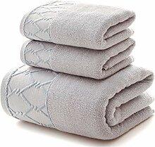 Luxus Handtuch 3 Stück Set 1 Stück großes