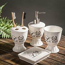 Luxus im europäischen Stil hochzeit ideen Bad Bad Sanitär Keramik Bad für minimalistische Hochzeit Geschenke,4-Teiler