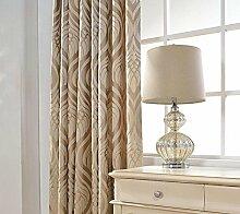 Luxus Jacquard Jalousien Vorhänge für Wohnzimmer Bett Zimmer Home Drape Dekor Grau Custom Günstige Schöne Vorhänge & Vorhänge , 2 , 1pc(150x220cm)