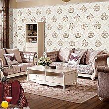Luxus Jacquard nahtlose Tapete Wandverkleidung Wandbelag ökologischen Hintergrund Schlafzimmer Wohnzimmer