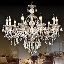 Luxus Kristallleuchter Einfache Europäische Kerze