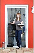 Luxus Lamellenvorhang Fliegengitter für Tür - Insektenschutz - 100 x 220 cm