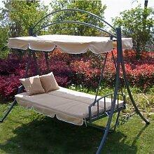 Luxus Loywe Hollywoodschaukel Gartenschaukel mit