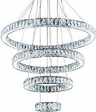 Luxus Moderne LED-Kristallleuchter für Wohnzimmer