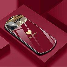 Luxus niedlicher ovales herzförmiges gehärtetes