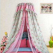 Luxus Prinzessin Baumwolle Kuppel Moskito Bett Bett Mantel