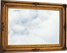 Luxus Pur UG Antike Spiegel kaufen Wandspiegel Spiegelgröße 50x60 im opulenten Barock Design