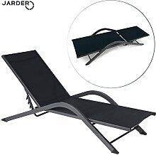 Luxus-Sonnenliege (Sonnenbett), verstellbar, von