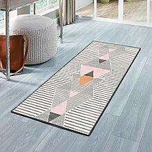 Luxus Teppich 100x280cm, Teppich für Flur, Modern