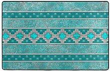 Luxus Teppiche Weich Silber Santa Southwest